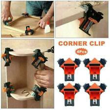 90° Degree Right Angle Clip Clamps Corner Holders Woodworking Tool Hand A3G0