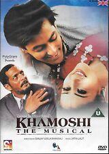 KHAMOSHI - NANA PATEKAR - SALMAN KHAN - NEW BOLLYWOOD DVD - FREE UK POST