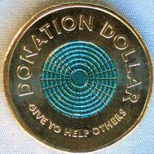 *NEW**AUSTRALIA /AUSTRALIEN_1 Dollar 2020_Donation Dollar - grün, green_unc_lose