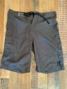 Hurley Board Shorts dark gray size 32