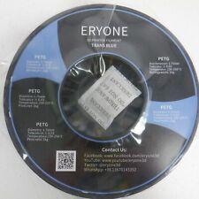 Filamento para 3D Impresora eryone PETG, 1KG, 1.75mm azul translúcido carrete 1 * Nuevo *
