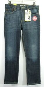 New Signature Levi Mens Modern Fit Skinny Stretch Vtg Blue Denim Jeans 33 x 30