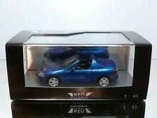 NEO MODELS 44511 HONDA CRX DEL SOL - BLUE METALLIC 1:43 - EXCELLENT IN BOX