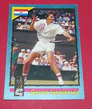 ATP TOUR CARD TENNIS 1995 GORAN IVANIVESIC CROATIE HRVATSKA PANINI CARDS