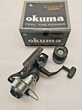 Okuma LongBow II-640 Spinning Reel Bait Runner Bait Feeder Spare Spool Carp Cat