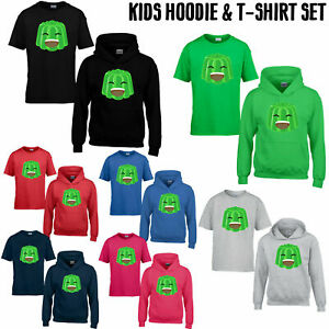 Crazy Jelly Viral Kids T-Shirt Hoodie Set Boy Girl Youtuber Gamer Player Jelly