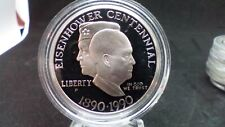 New listing 1990 S Eisenhower proof Silver Dollar Us Mint $1 Coin Only
