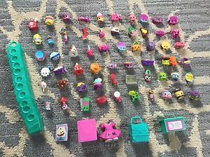 Shopkins Lot ~60 Figures~ Accessories different seasons