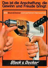 BLACK & DECKER - Prospekt Broschüre Heimwerker Werkzeug Programm - B12126