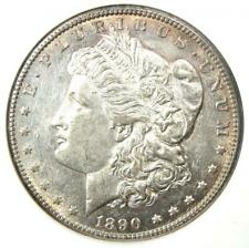 1890-CC Morgan Silver Dollar $1 Carson City Coin - Certified NGC AU55 - Rare!