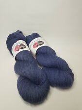 Hand dyed Wool Nylon yarn, 4-ply, Fingering weight, 100g, TWILIGHT