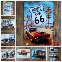 20*30CM Vintage Metal Tin Signs Bar Garage Plaque Art Wall Decor Iron Painting
