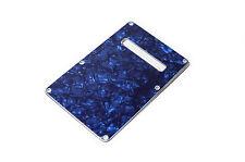 Blue Pearl Back Plate Tremolo Cover  - Tapa trasera azul guitarra eléctrica