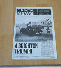 Old Motor Newspaper No 51
