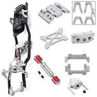 Für 1:10 RC Auto Axial SCX10 II 90046 Crawler Car 313mm Radstand Rahmen Chassis