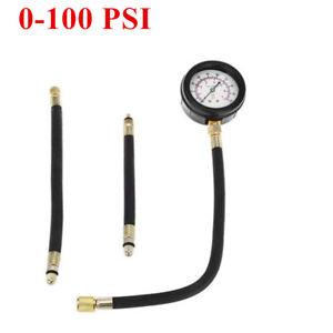Universal Fuel injection pump pressure gauge 0-100 PSI Tester Service Set