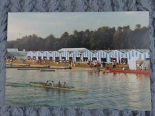 Vintage 1992 Henley Regatta Boat Tent Real Photo Postcard