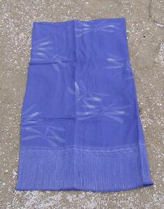 Designer Strandtuch Pareo Wickeltuch Sarong, Libelle Dessin blau Baumwolle