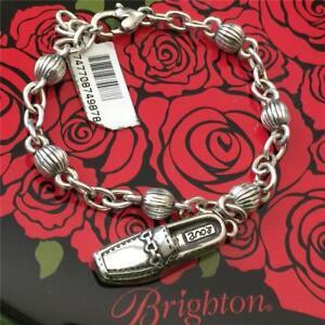 Brighton Silver Charm Bracelet Love Shoe Charm
