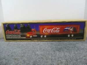 Coca-Cola 1997 Christmas Caravan Truck Limited Ed with LIGHTS New