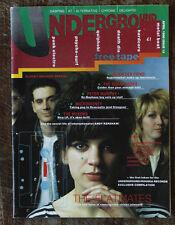 Underground magazine - Sugarcubes, Mekons, Pete Murphy etc 1988  + cassette tape