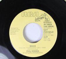 Soul Promo 45 Phil Woods - Sails / Canto De Oshanna On Rca