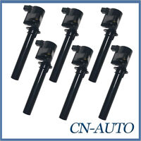 6Pcs Ignition Coil For Mazda Tribute MPV LW Ford Escape Taurus Freestyle 3.0L