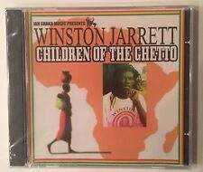Winston Jarrett 'Children Of The Ghetto' CD Jah Shaka Music Roots Reggae - NEW
