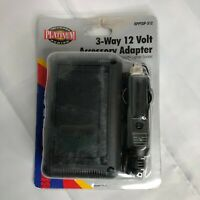 RoadPro 3-way 12-volt accessory adapter NIP camping travel power multiple