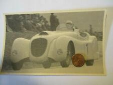 Org. Foto 50er Jahre  Oldtimer Motorsport Rennwagen mit Startnummer 1