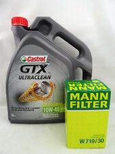 Castrol GTX Ultraclean 10W40 15A4D5 10W-40 + Ölfilter MANN W719/30 5Liter