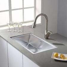 18 Gauge Stainless Steel Kitchen Sink Undermount Single Bowl w/ Grid