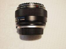 Vivitar 2x macro focusing teleconverter for OM lenses