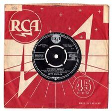 "ELVIS PRESLEY.WOODEN HEART / TONIGHT IS SO RIGHT FOR LOVE.UK ORIG 7"" & CO/SL.EX"