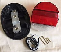 VW BUG Left or Right Tail Light Assembly Complete Red White VOLKSWAGEN BEETLE