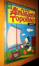 ALBO D'ORO - ALMANACCO TOPOLINO #   4 - APRILE 1965 - MONDADORI - DISNEY