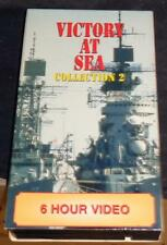 Victory At Sea - Gently Used VHS Video - Collection 2, Six Hour Video - VGC