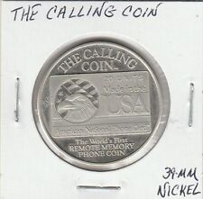 LAM(A) So Called Dollar - The Calling Coin - 39 MM Nickel