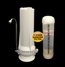 Counter Top Single Stage Drinking Alkaline/Ionizer Negative ORP KDF Water Filter