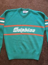 Vintage Authentic NFC Cliff Engle Miami Dolphins  Sweater NFL Shirt Jersey XL