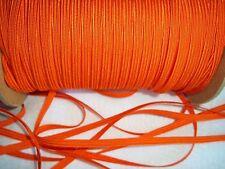 Vintage Orange Soutache Cord -  Soutache Rayon Cord Trim 5 yards