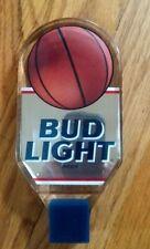 Bud Light lucite basketball tap handle