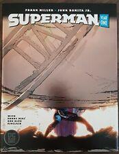 DC Comics 2019 Superman Year One Hardcover Signed Frank Miller John Romita Jr