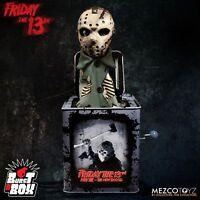 Mezco Friday the 13th Part VII Burst a Box 14 inch Jason Voorhees