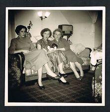 Foto vintage photo, le donne soggiorno TUBI RADIO women radio tube family/106a