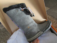 NEW CUSHE CABIN FEVER WATERPROOF WINTER BOOTS WOMENS 5 36 GRAY HIGH BOOTS