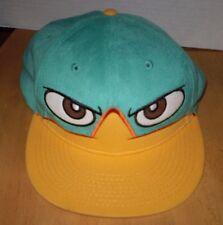 YELLOW & AQUA BLUE ANGRY BIRDS CAP