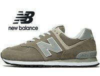 🔥 2020 New Balance MS 574 Suede Leather ® ( Men UK: 6  7.5  8  ) Grey ML574EGG