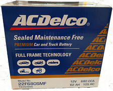 Car Battery 22F680SMF ACDelco Suits Commodore VT VX VY VZ Falcon Camry