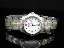 Wenger 79094 Swiss Military Gold & Silver Tone Date Women's Watch ~ GREAT GIFT